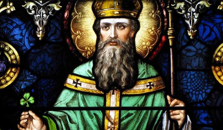 Représentation de Saint Patrick