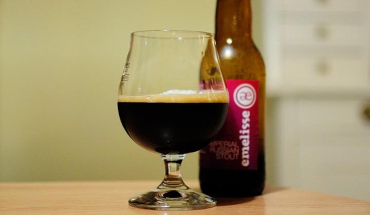 La bière IRS de la brasserie Emelisse