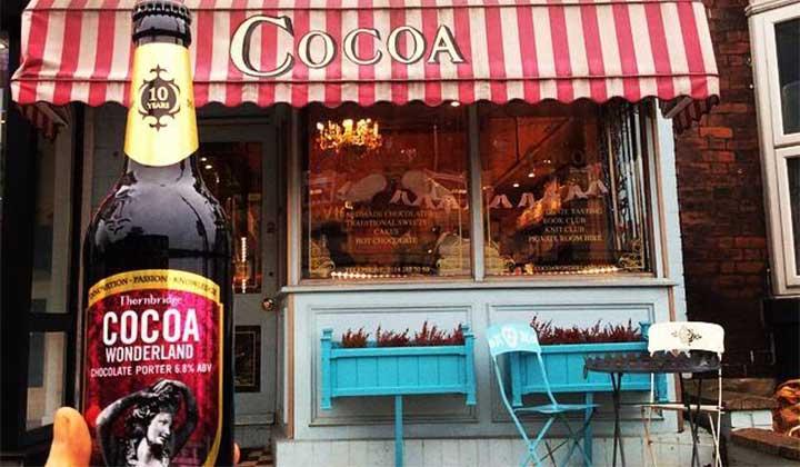 Porter Cocoa Wonderland par la brasserie Thornbridge