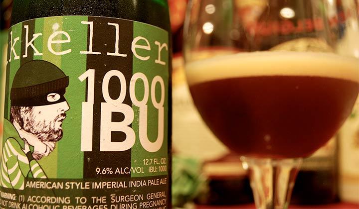 Bière 1000 IBU de Mikkeller