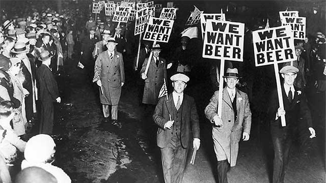 La bière dans l'histoire en 10 photos