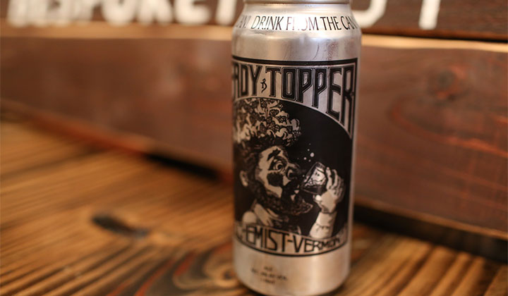 La double IPA Heady Topper de The Alchemist