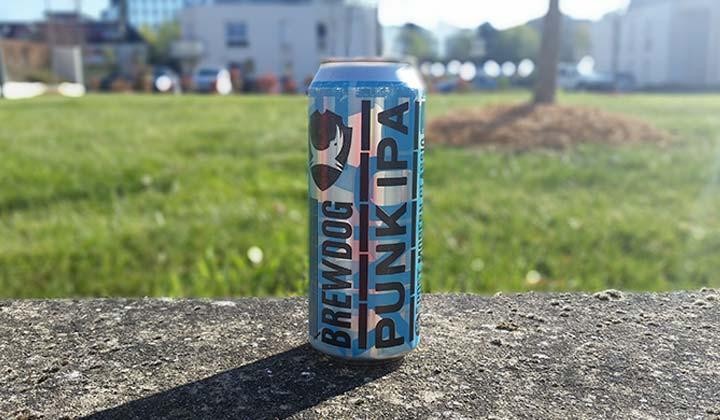 La bière Punk IPA de la brasserie écossaise BrewDog