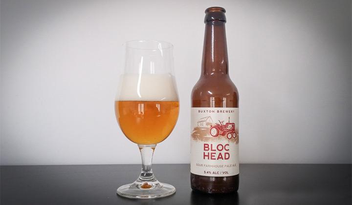 La bière de saison ou farmhouse ale Bloc Head de chez Buxton