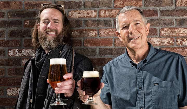 Les deux fondateurs de la brasserie américaine Stone