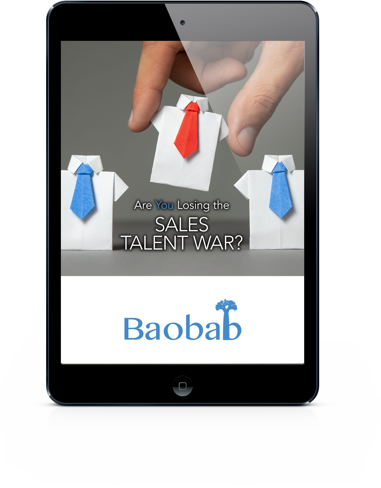 Are you losing the Sales Talent War? An example eBook from Baobab