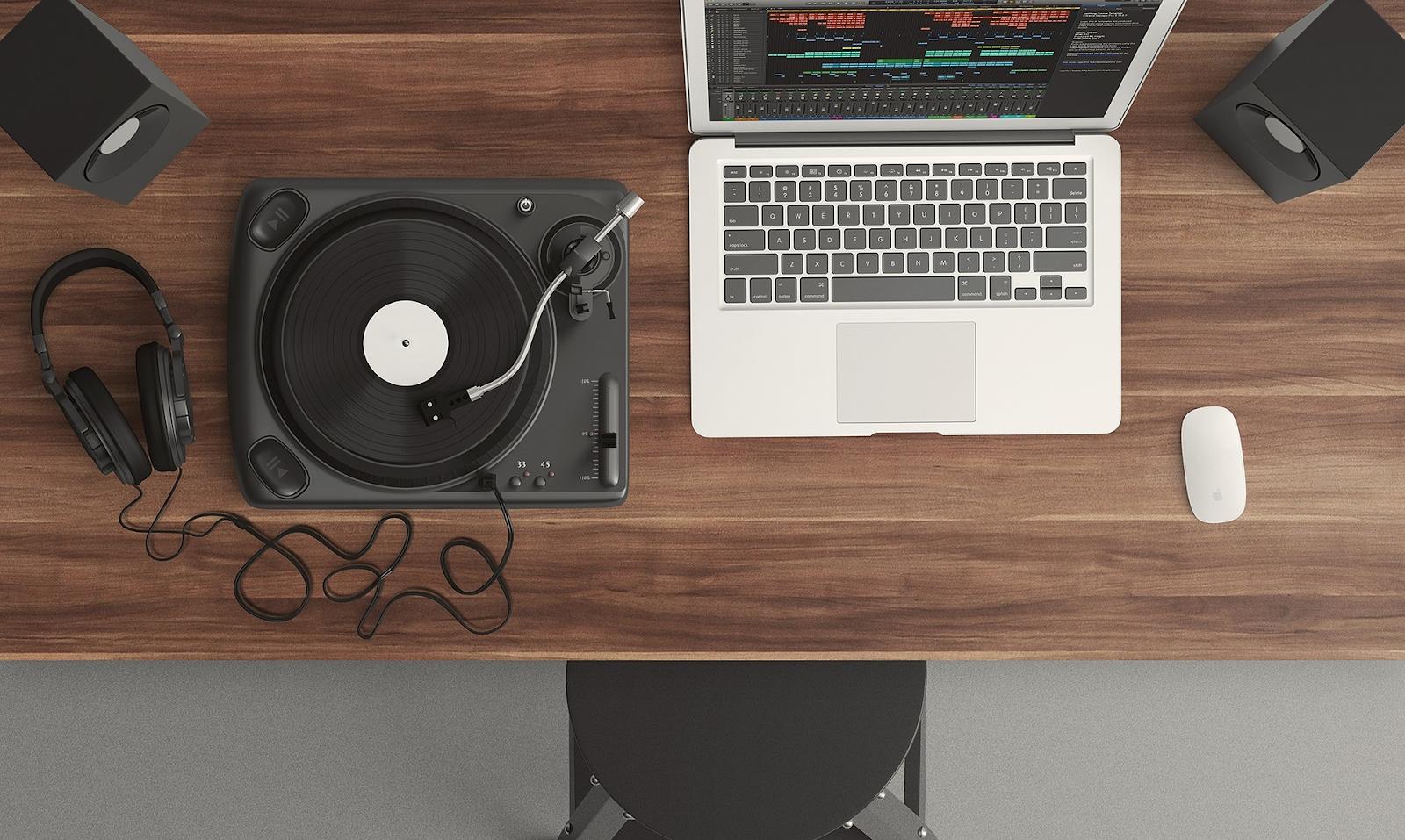 musician's desk