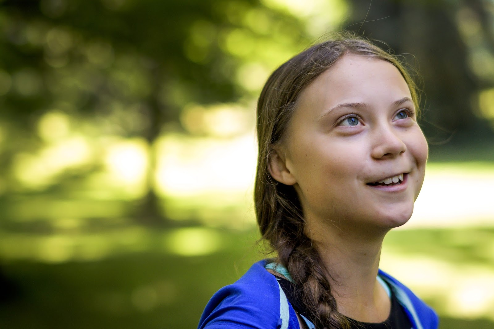 Image of Greta Thunberg.