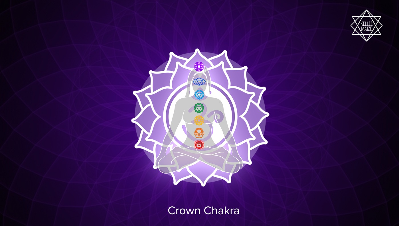 Crown Chakra Illustration
