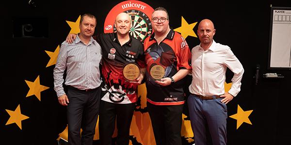 Jamie Hughes, Stephen Bunting (Jonas Hunold, PDC Europe)