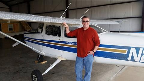 Photo of a Code 1 Flight Training flight student near Canton TX