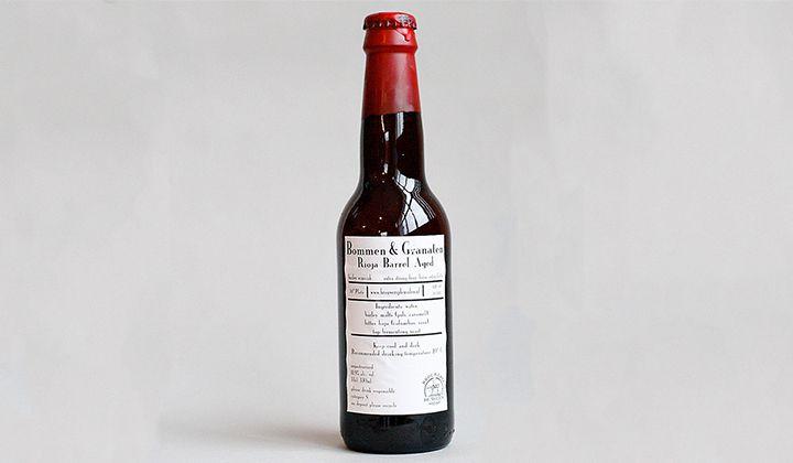 Barley wine Bommen & Granaten de la brasserie De Molen