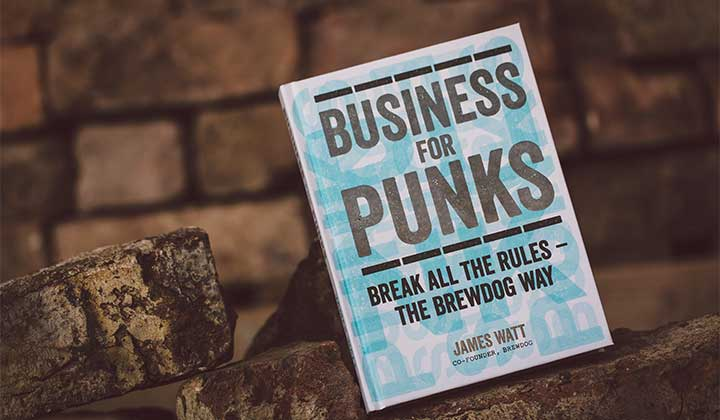 Livre Brewdog Business for Punks