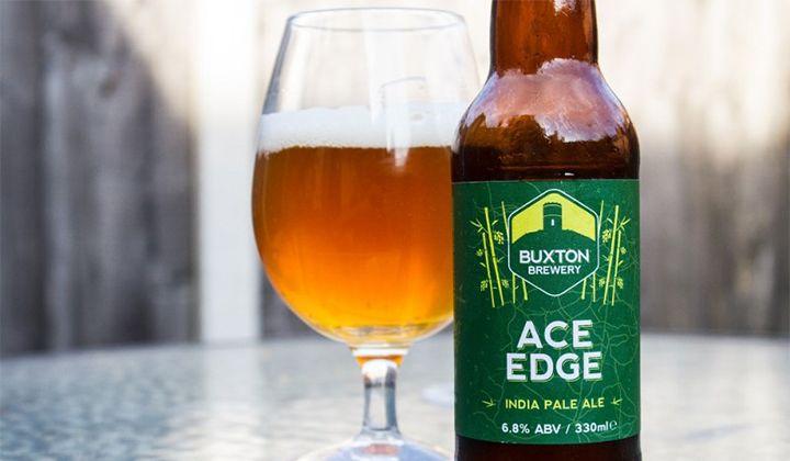 Bière Ace Edge de la brasserie anglaise Buxton