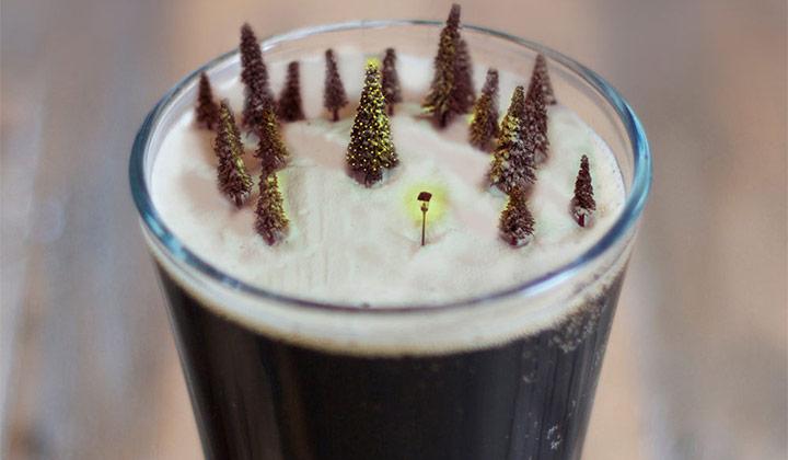 Les bières de Noël sont traditionnellement de couleur foncée