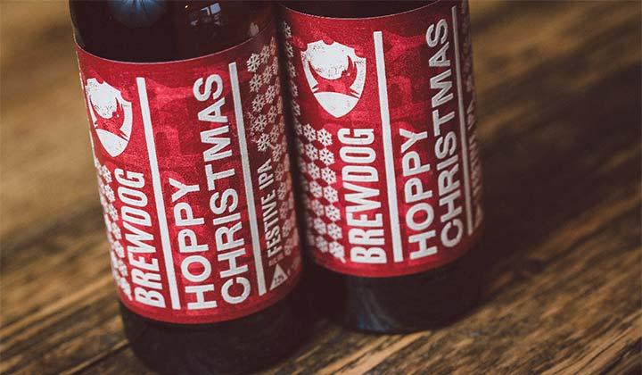 La bière de Noël Hoppy Christmas de Brewdog