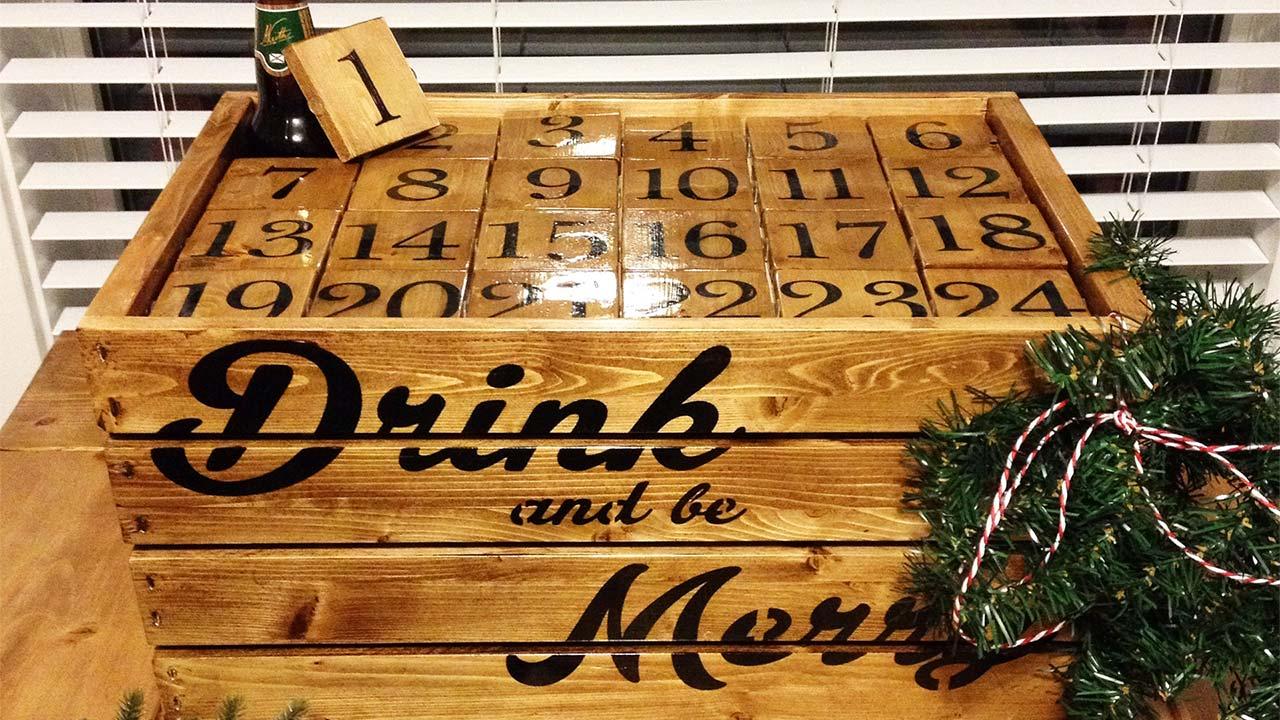 Comment Faire Un Calendrier Fait Maison calendrier de l'avent de bières : l'acheter ou le faire soi