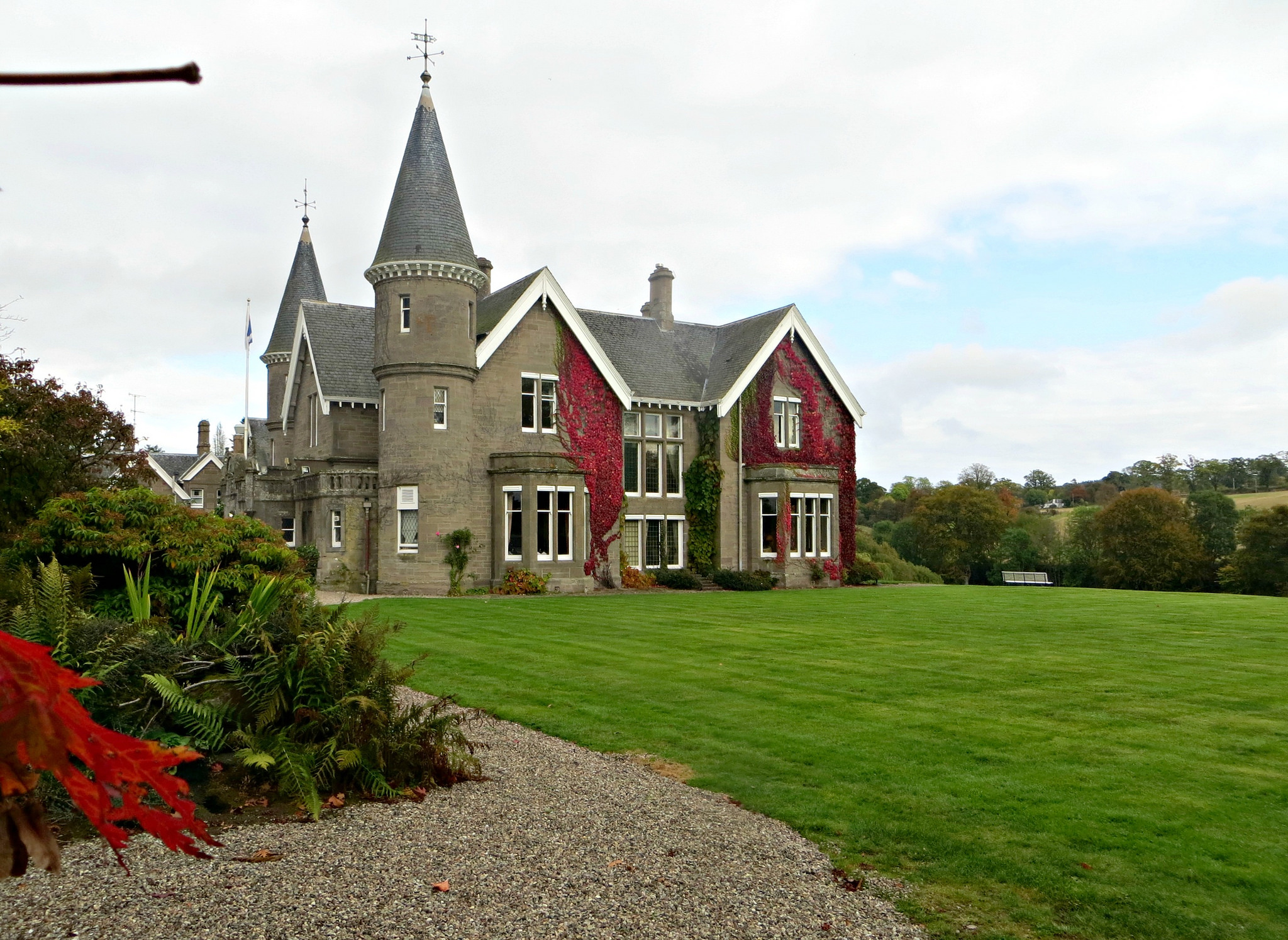 Famous amongst salmon fishers, Ballathie Country House Hotel on the River Tay provides fantastic accommodation, and food