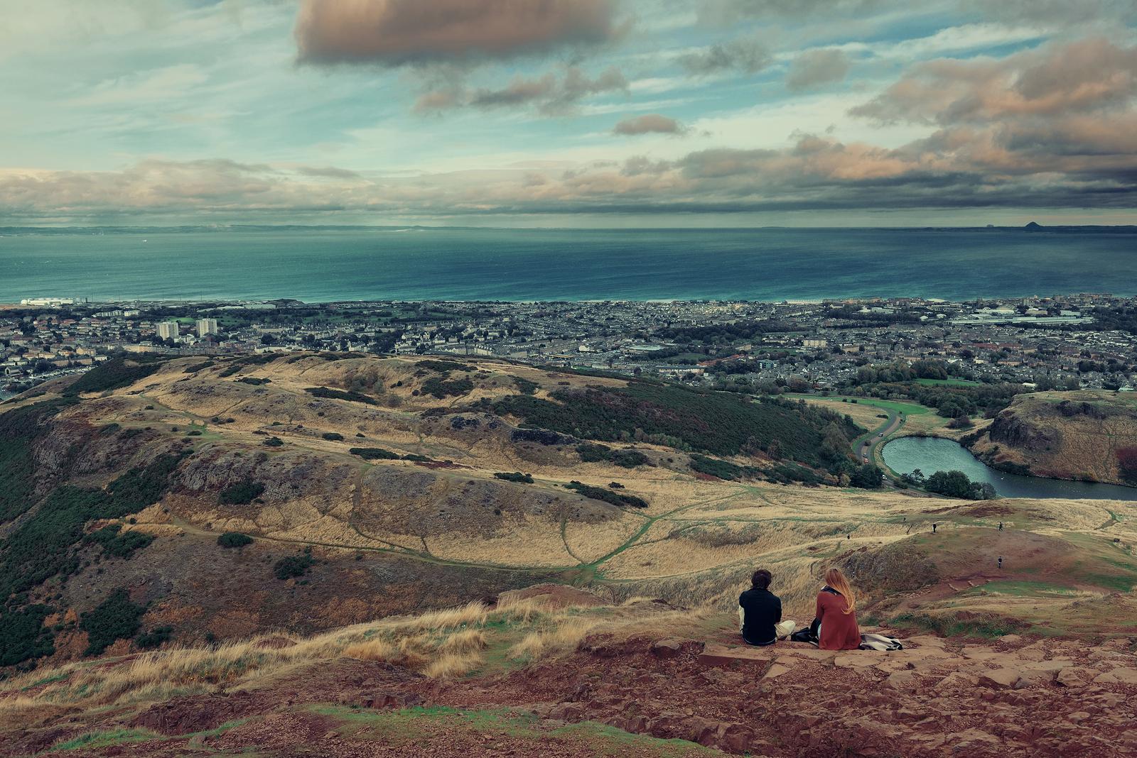 Right in the centre of Edinburgh rises Arthur's Seat, a long dormant volcano and famous Scottish walk