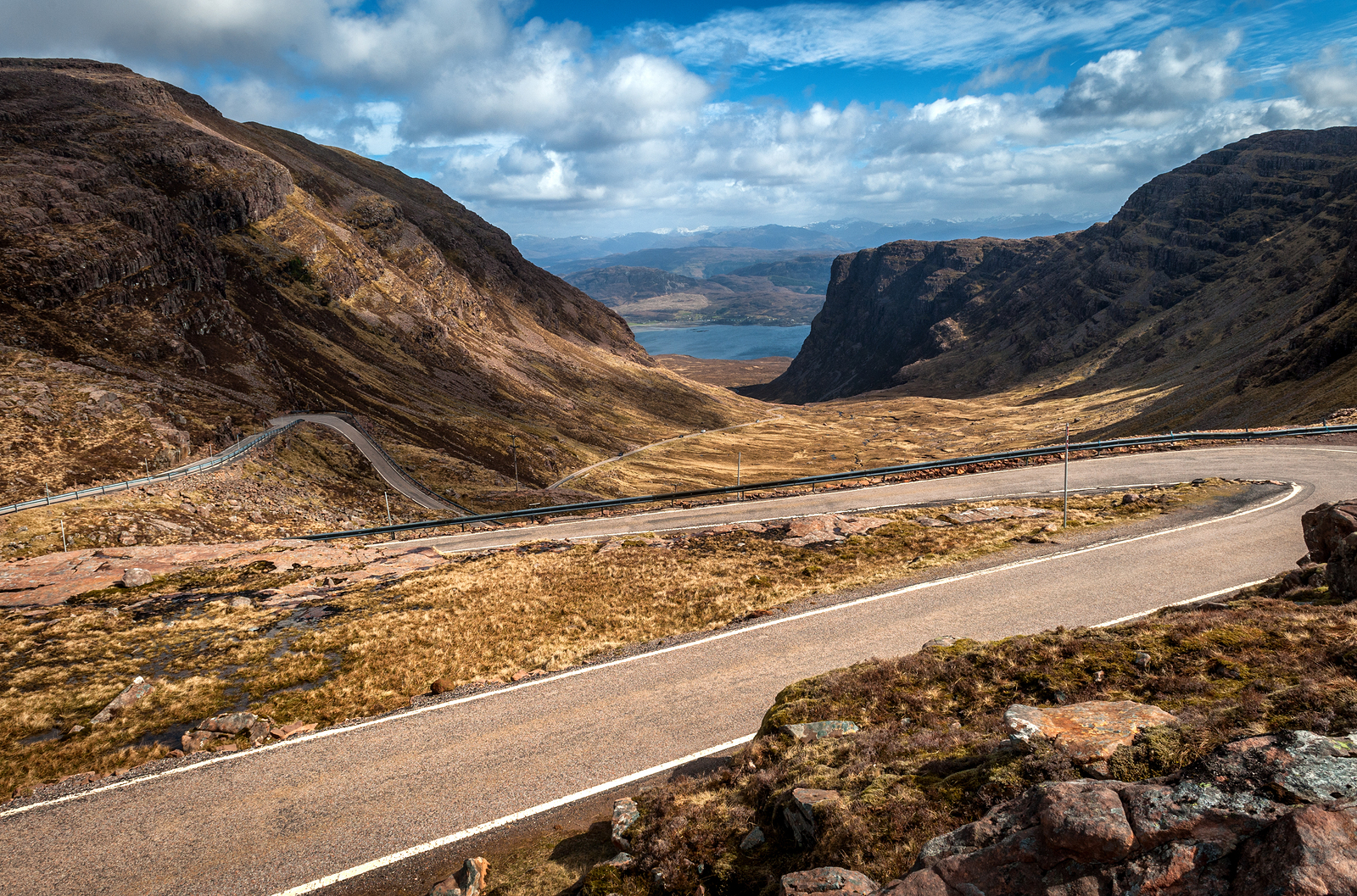 A trip to Skye has to include the iconic Applecross Peninsula with fantastic views of the isle