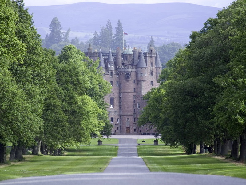 Tour Glamis Castle Scotland, home to Queens, and famously haunted