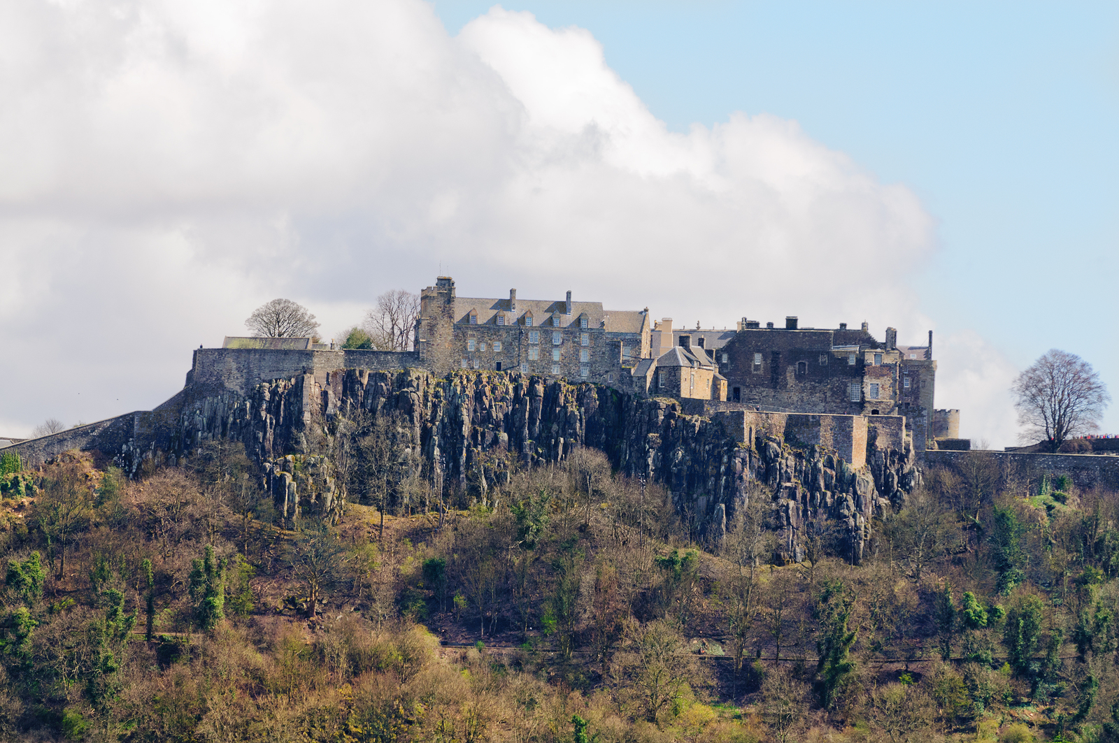 Drop by Stirling Castle in central Scotland on your private Scottish Tour