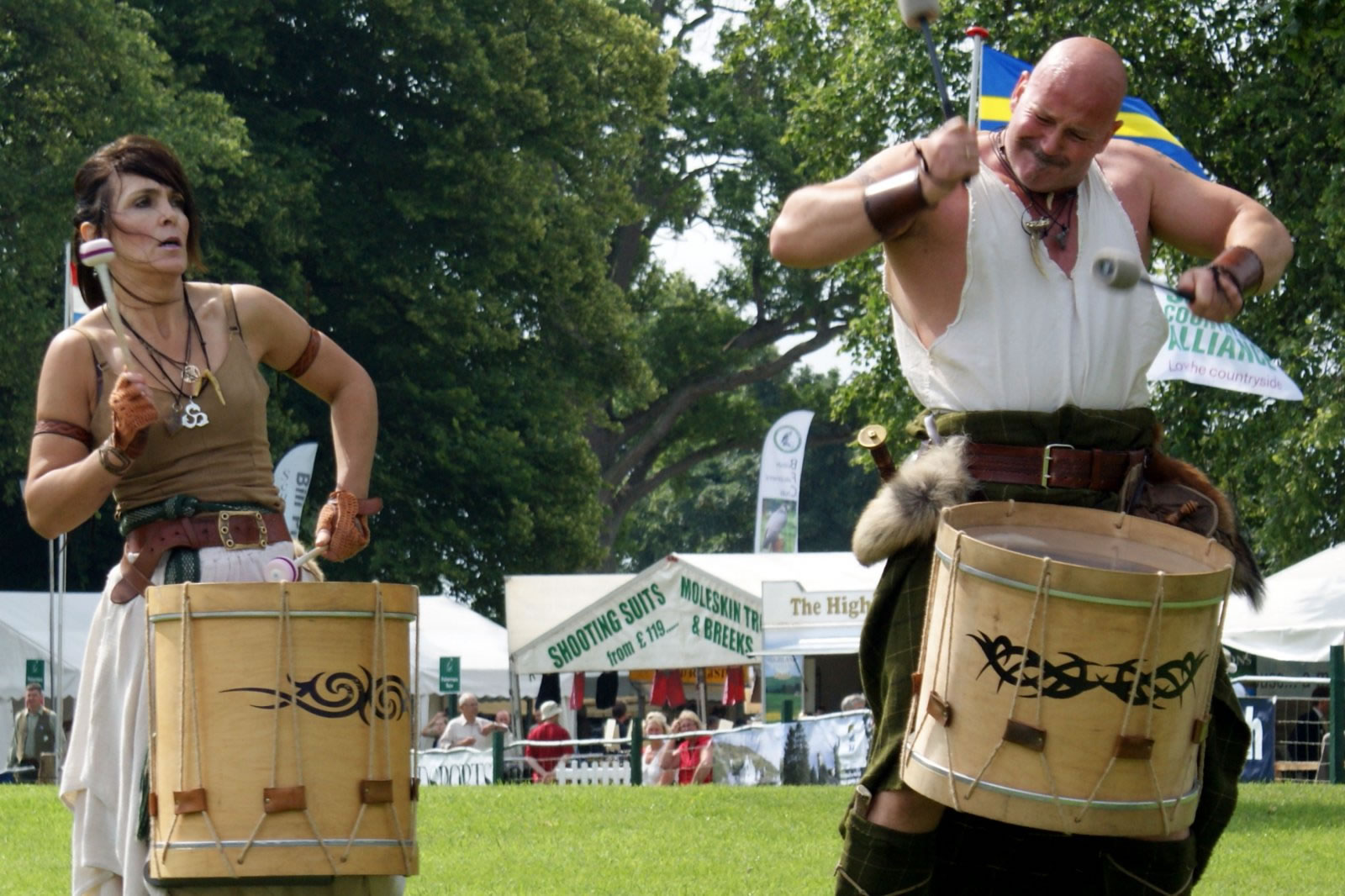 The Scottish Game Fair is a true celebration of the countryside - fun for all ages.