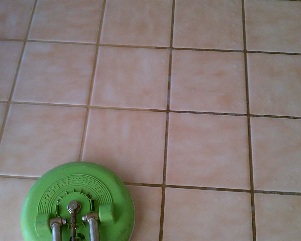 Clearly Clean providing tile and grout cleaning in Gilbert, AZ
