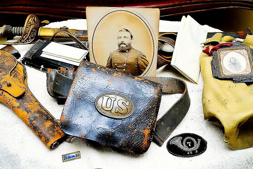 Photo-of-collectible-civil-war-memorabilia-nj-collectibles