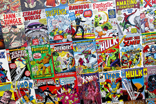 Photo-of-collectible-marvel-comic-books-nj-collectibles