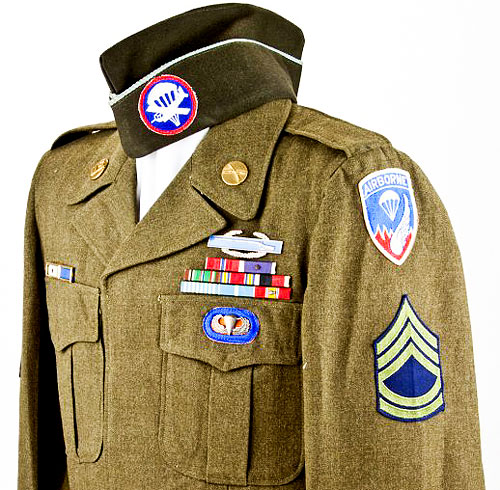 Photo-of-collectible-world-war-uniforms-nj-collectibles