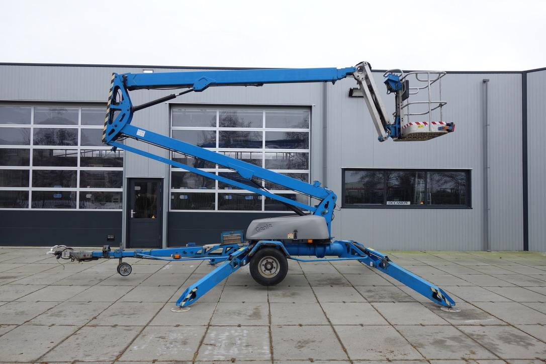 Hoogwerker Aanhangwagen 17meter.