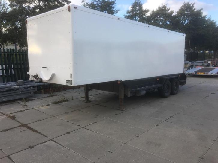 Veldhuizen b.e trailer, rijdende werkplaats