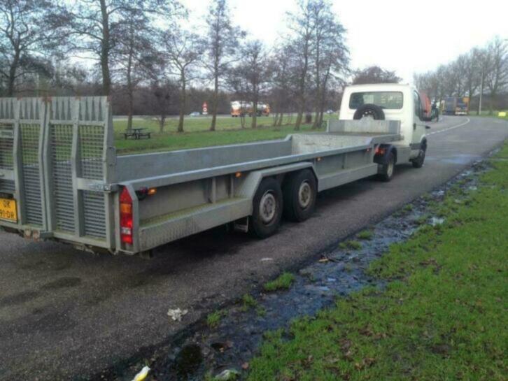 Veldhuizen b.e. trailer 10 tons (inruil mogelijk divers)