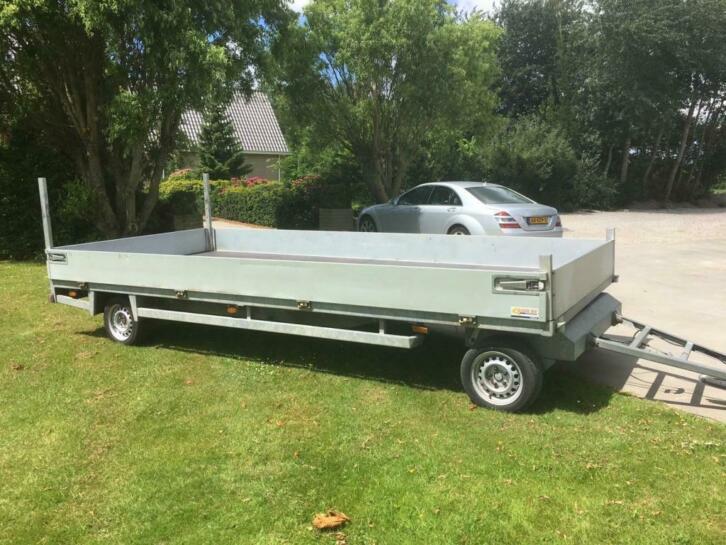 Ultra Lite schamelwagen 3500kg. 500x225cm BJ 2012