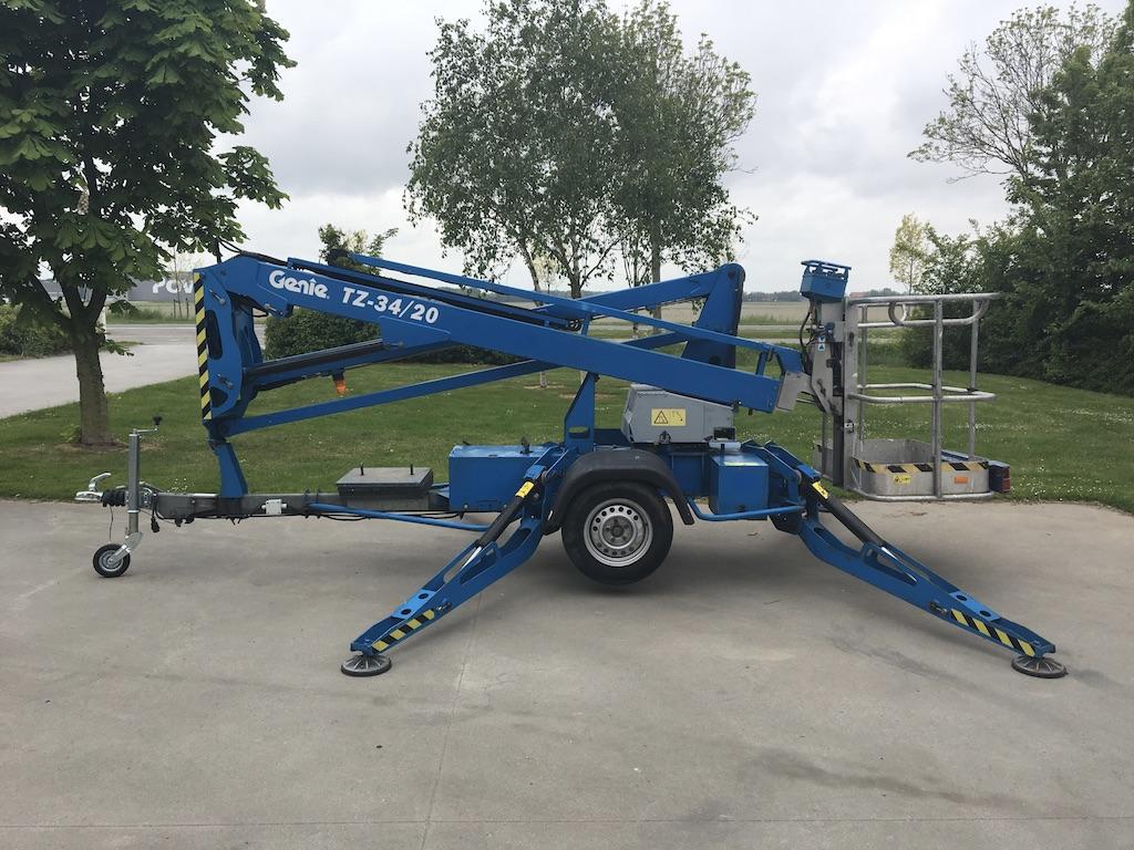 Genie TZ34 / 20 aanhangwagen hoogwerker