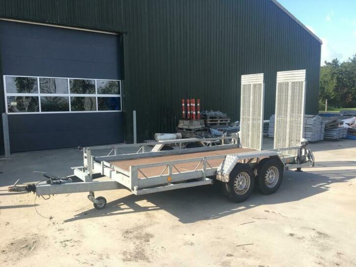 Atec machine Transporter 3500kg zware uitvoering oprijwagen