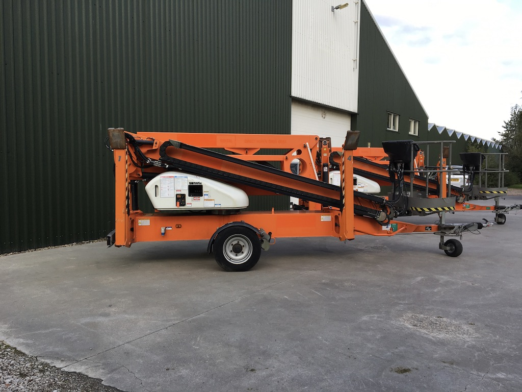 Niftylift N210 aanhangwagen hoogwerker 21m