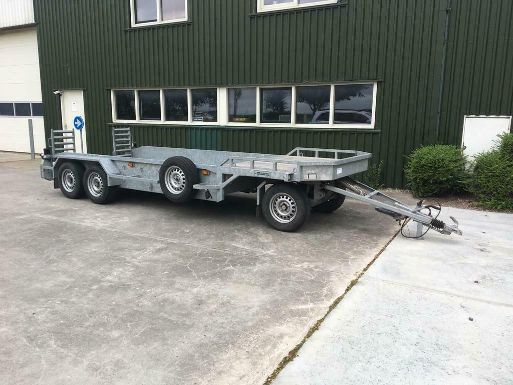 Veldhuizen schamelwagen machinetransporter 3 assen BJ 2014