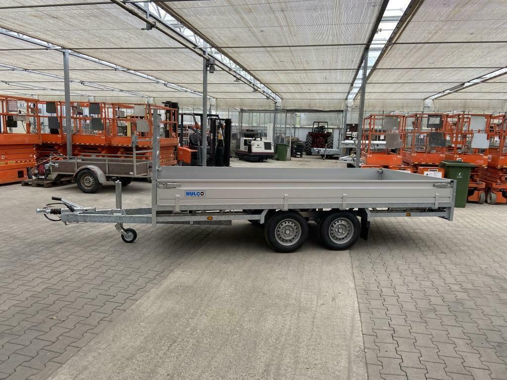 Hulco Medax 2 assige plateauwagen 400x180cm