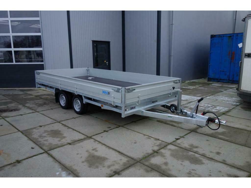 Hulco Medax 2 asser plateauwagen 3T 400x200cm