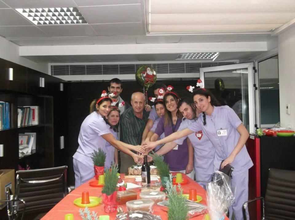 The Levant Clinic Dialysis Center celebrates Christmas