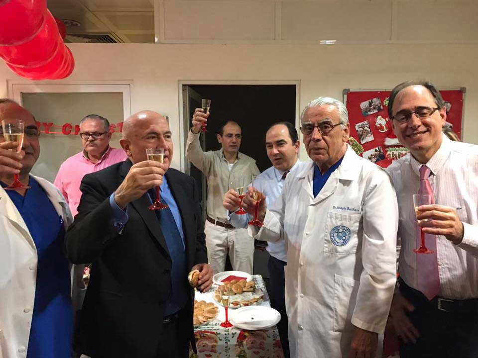 The Levant Clinic Ophthalmology Department celebrates Christmas