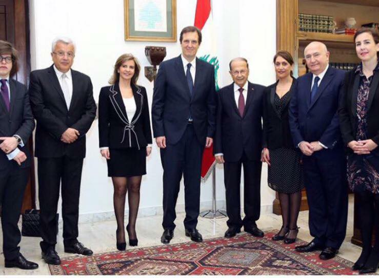 Fillon Special Advisor's fleeting visit to Beirut