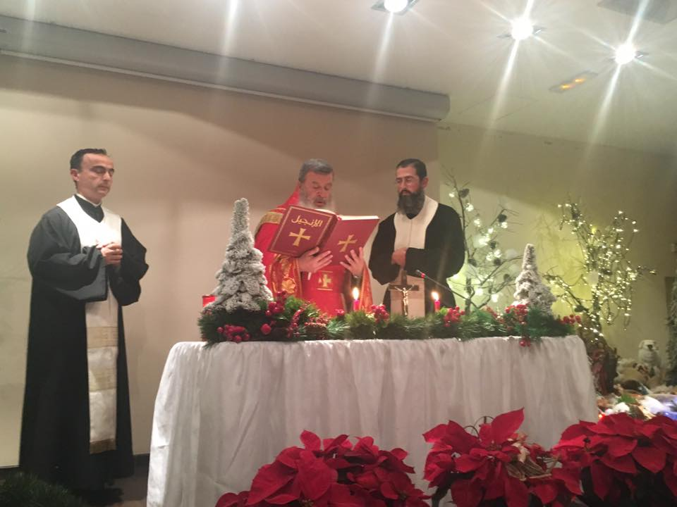 Christmas Mass at the Levant Hospital
