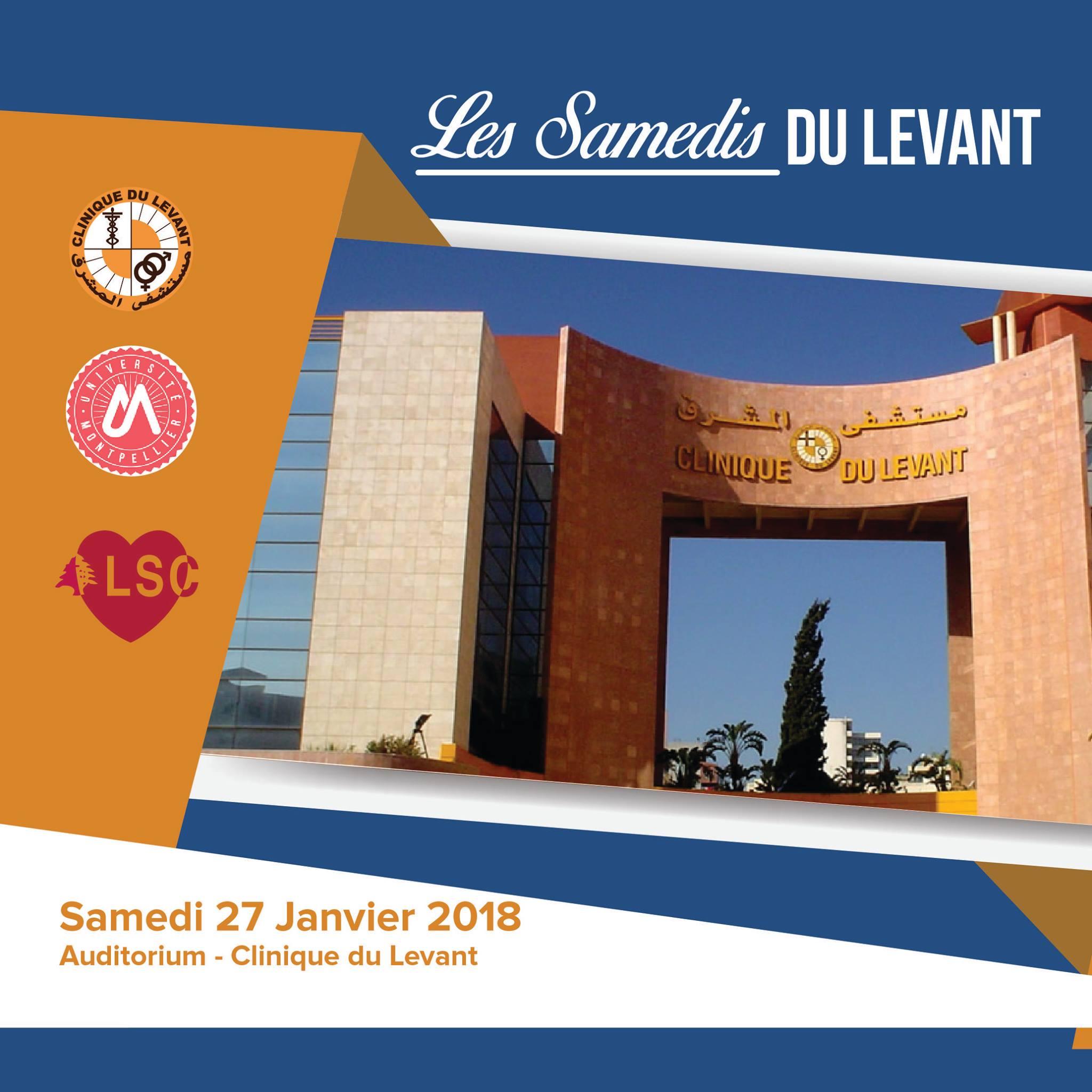 Les Samedis Du Levant 2018