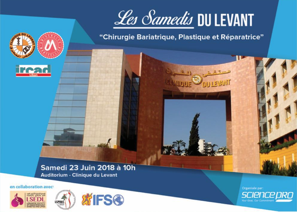 Les Samedis du Levant: Bariatric, Plastic and Restorative Surgery