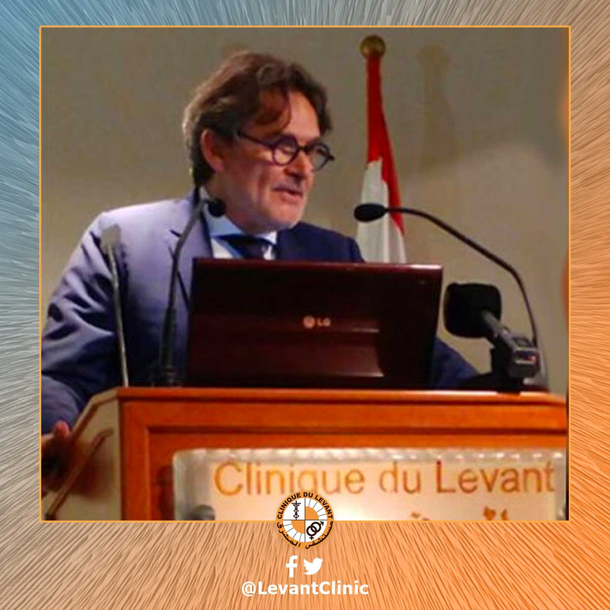 Prof. Jacques Touchon at the Levant Hospital