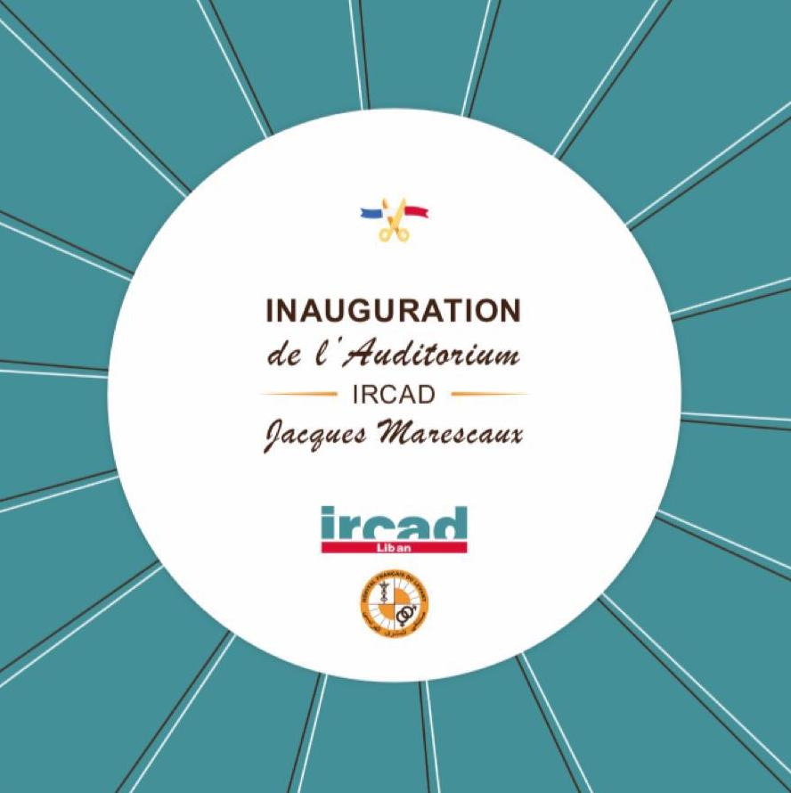 "2019.07.20 - Inauguration de l'Auditorium IRCAD ""Jacques Marescaux"""