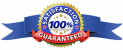 Satisfaction guaranteed on your gutter cleaning service.